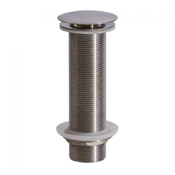 "A-SP-27LBN / Sink Drain - Pop-Up Mushroom Type w/ 6"" Long Thread, Fits: 1-3/4"""