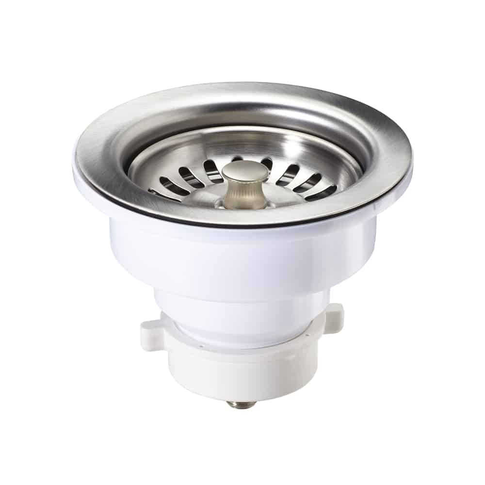 A-SS-05 / Sink Strainer PVC for Kitchen w/ S.S. Finish - 4-1/2\