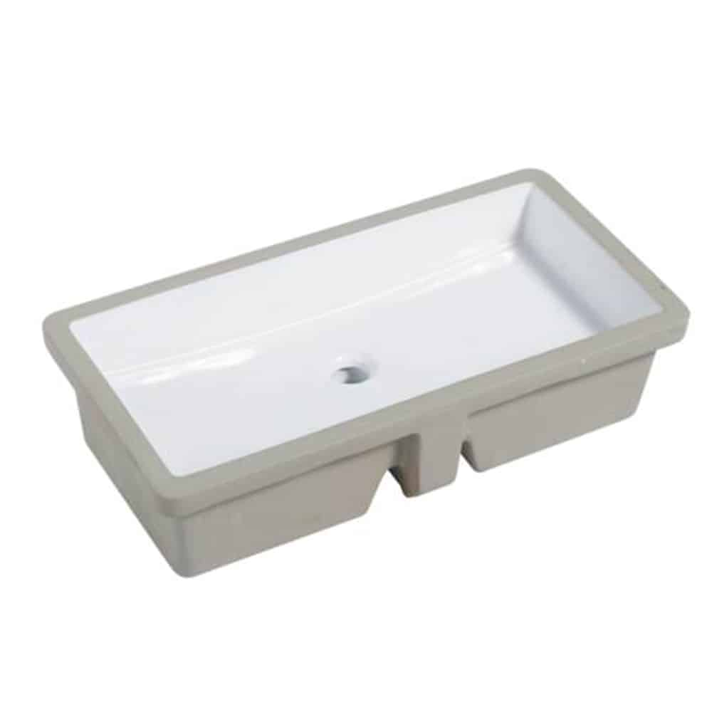 Pu 20w Porcelain Series Bathroom Sink 27 3 4 X 13 3 4 X 6 Lenova Sinks