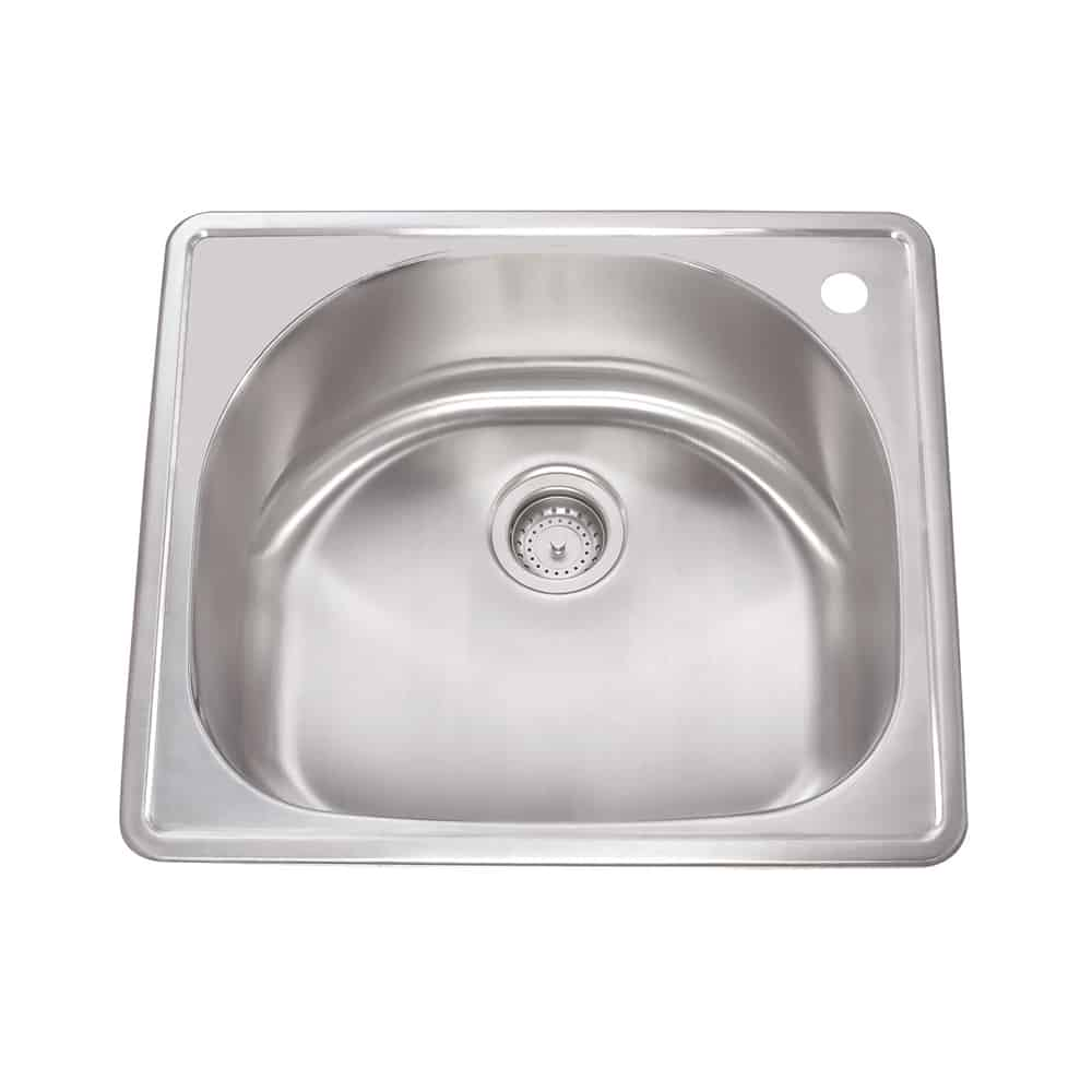 Ss Tm 25d20 1h Drop In Kitchen Sink 25 X 22 X 9 Lenova Sinks